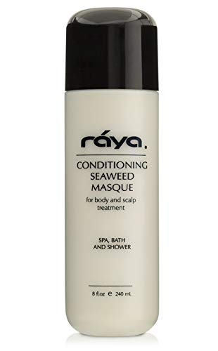 RAYA Conditioning Seaweed Masque 8 oz (S-106) | Nourishing and Vitamin-Rich Hair, Scalp, and Body Treatment Mask | Great for All Skin and Hair Types