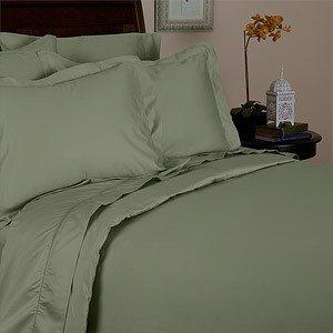 JS Sanders Affordable Microfiber 6 PC Bed Sheet Set - Full Size, Green