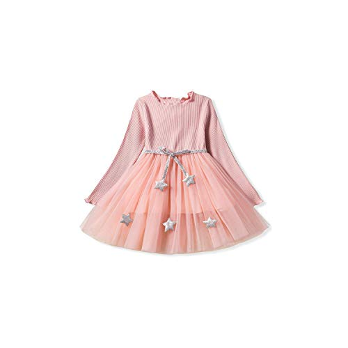 Girl Costume Toddler Long Sleeve Party Prom Pageant Dancing Frocks Lace Tutu Layered,9,71