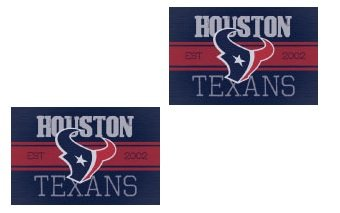 NFL Houston Texans Classic Stickers Double Pack of 2