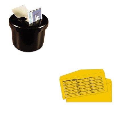 KITLEE40100QUA63262 - Value Kit - Quality Park Brown Kraft Fold Flap Kraft Trade Size Interoffice Envelope (QUA63262) and Lee Ultimate Stamp Dispenser (LEE40100)