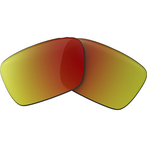 Oakley Fuel Cell 16-959 Iridium Rimless Sunglasses,Multi Frame/Ruby Lens,One - Sunglasses Oakley $16