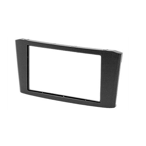 CARAV 11-108 double din dash kit car dash kit Radio Stereo Face Facia Fascia Panel Frame DVD Dash Stereo Install Kit for TOYOTA Avensis 2002-2008 with 17398mm 178100mm 178102mm