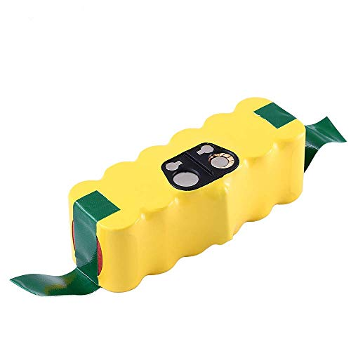 (4500mAh Ni-Mh Battery Replace for iRobot Roomba 14.4V R3 500 600 700 800 900 Series 510 530 531 532 535 536 540 550 552 560 570 580 595 620 650 660 760 770 780 790 800 870 980)