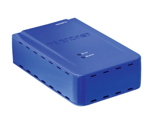 TRENDnet Wireless 1-Port Multi-Function Print Server TEW-MP1U (Blue) by TRENDnet