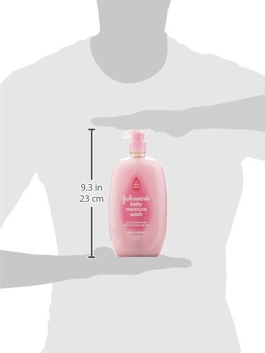 Johnson's Baby Moisture Care Wash To Soften Skin, 28 Oz.