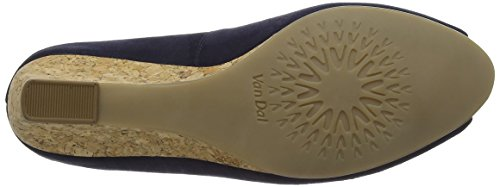 Van Dal Women's Kingswood Open-Toe Heels Blue (Midnight) WjwDjdDh