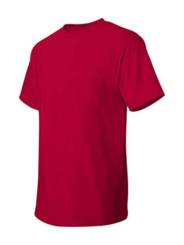 (Hanes TAGLESS 6.1 Short Sleeve T-Shirt w/ Pocket)