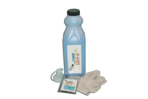 Toner Refill Store TM Cyan Toner Refill with reset chip for the Xerox Phaser 7760, 7760DN, 7760DX, 7760GX, 106R01160