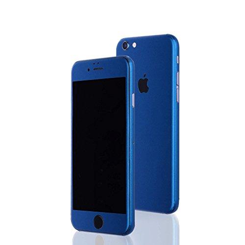 AppSkins Folien-Set iPhone 6 PLUS Full Cover - Color Edition blue