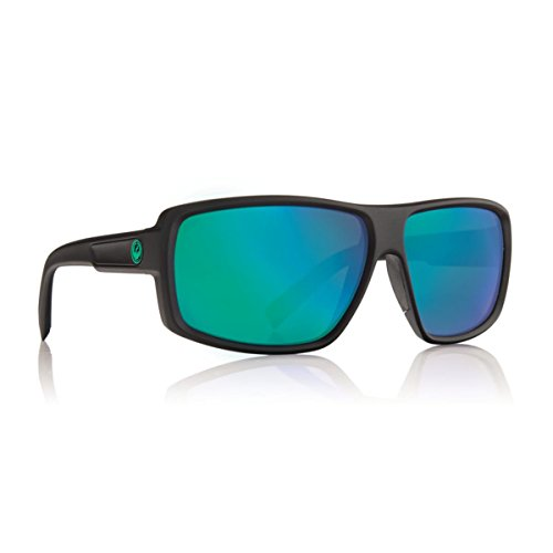 Dragon Alliance Double Dos Matte P2 Sunglasses, H2O/Green - Sunglasses H20