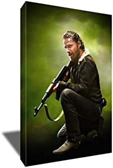 Premium Giclee CANVAS Wall Art Picture Print THE WALKING DEAD TV Series
