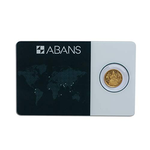 Abans Gold Coin Lakshmi And Abans 2gm 24KT 995