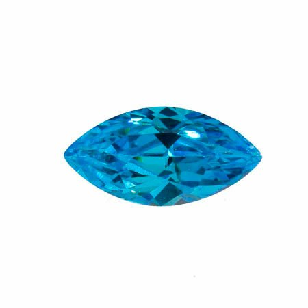 WireJewelry 14x7mm Marquise Blue Cz - Pack of 1