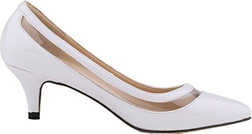 Di Salabobo Bianco Piattaforma Bianco Sandali Donna 38 q57vP5Tf