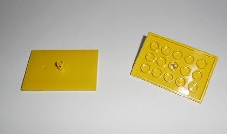 1 BLACK 4 x 6 BOGIE PLATES..VG Lego CITY TRAIN
