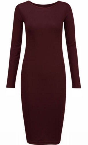 MYFASIONSTORE - Vestido - para mujer Wine