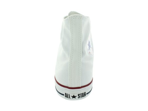 Converse Chuck Taylor All Star High Top Shoe, Optical White, 6 M US
