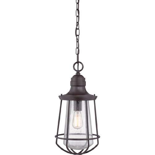 Quoizel MRE1909WT 1-Light Marine Outdoor Lantern in Western (Bronze Large Lantern Pendant)