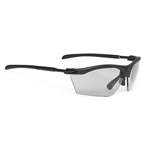 Rudy Project 2019 Rydon Sports Cycling Sunglasses - Matte Black Frame - ImpactX-2 Photochromic Clear to Black Lens