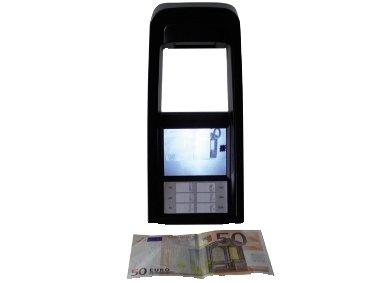 RILEVATORE VERIFICATORE DI BANCONOTE SLIM A INFRAROSSI E VISORE LCD