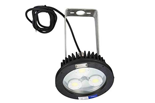 60W Explosion Proof Trunnion Mount AC LED Fixture - C1D1 - C2D1 - Group B+ ATEX/IECEX - IP68 Rated