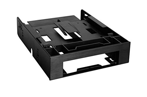 """ICY DOCK Dual 2.5"""" HDD/SSD & One 3.5"""" HDD/Device Front Bay to External 5.25"""" Bay SSD Mounting Bracket - Flex-FIT Trio MB343SP"""