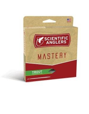 Scientific Anglers Trout Taper- Dry Tip Tech W/ Loop - Optic Green / Green, WF -2-F ()