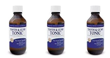 Dental Herb Company Tooth Gums Tonic 18 oz. Mouthwash – Value Pack – 3 Bottles