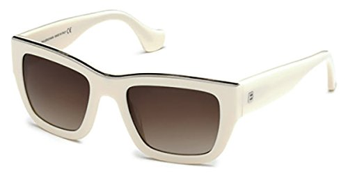 Sunglasses Balenciaga BA 0059 25F ivory / gradient brown