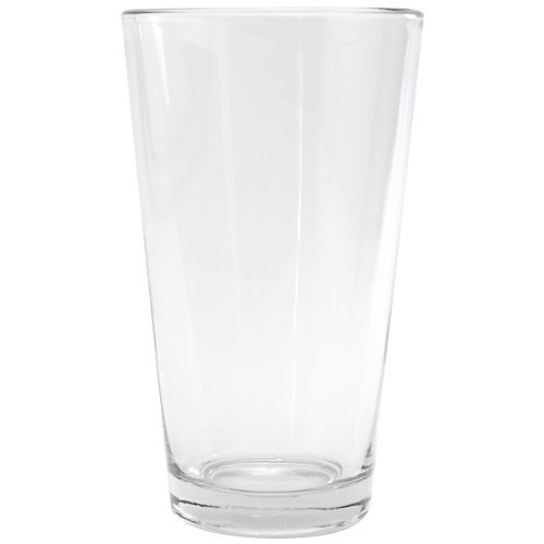 Glass Anchor Shaker Hocking (Anchor Hocking Pint Mixing Glass - Rim Tempered - 16 Oz, (1))