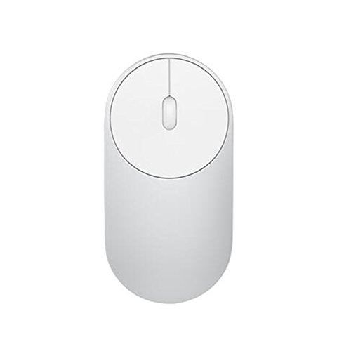 Silver Wireless Rf Optical Mouse (Penin Original Xiaomi Mouse Portable Wireless Mice Optical Bluetooth 4.0 Rf 2.4Ghz Dual Mode Connect 1200Dpi Mi Gaming Mouse Silver With Battery)