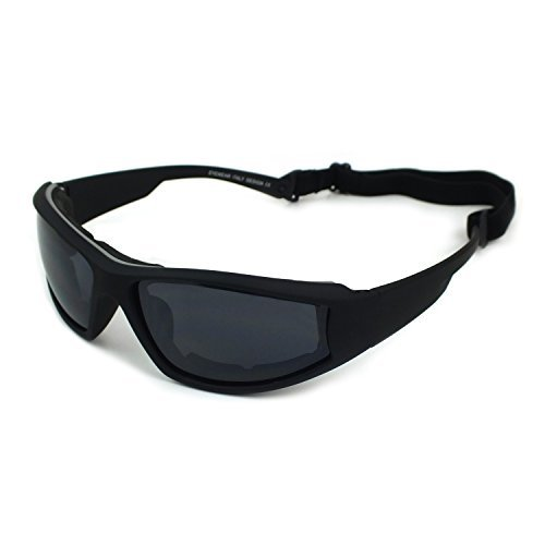 Ski Snowboarding Goggles Motorcycle Riding Googles Sports Sunglasses Wind & Dust protection (Black) by Aiming Joy