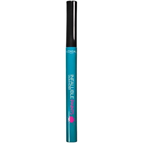 L'Oreal Paris Cosmetics Infallible Paints Eyeliner, Intrepid Teal, 0.03 Fluid Ounce