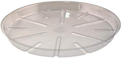 Bond Clear Plastic Saucer 21 in 25 Bag