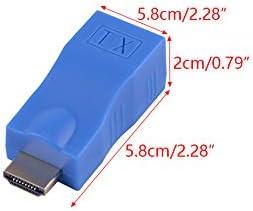 LETAOSK 30M HDMI Extender to RJ45 Over Cat 5e//6 LAN Network Ethernet 100Ft Adapter 1080P