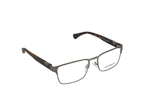 Emporio Armani EA 1027 Men's Eyeglasses Matte Gunmetal - Glasses Armani Womens