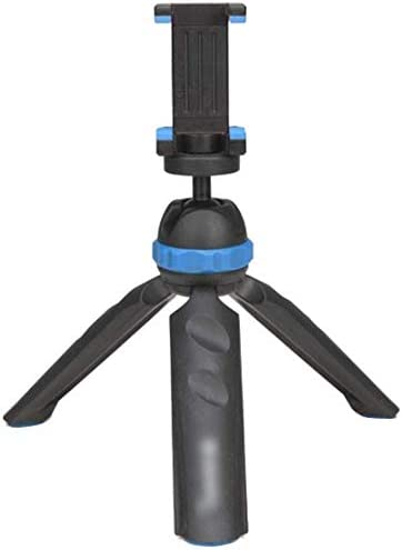 Zenghh Portable Aluminum Alloy Camera Tripod Monopod with 3-Way Swivel Pan Head,Mini Desktop Tripod