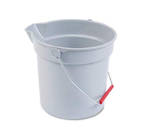 Round Bucket Utility - RCP296300GY - Rubbermaid Brute Round Utility Bucket