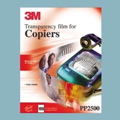 Recycled Paper Backed Transparency Film for Plain Paper Copiers, 100 ()