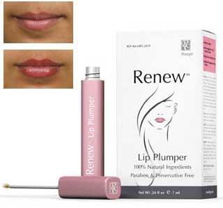 Cosmeceutical de Rozge Renouveler repulpant pour les lèvres, 0,24 fl. Oz.