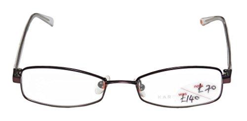 Karen Millen Km0058 Womens/Ladies Designer Full-rim Eyeglasses/Eyewear (49-17-135, Eggplant / Black / - Millen Frames Glasses Karen
