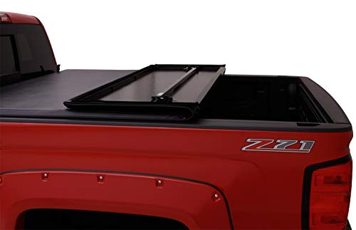 Lund 969364 Hard Fold Truck Bed Tonneau Cover for 2015-2018 Ford F-150 | Fits 5.5' Bed