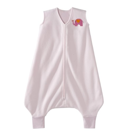 Price comparison product image HALO Big Kids SleepSack Micro Fleece Wearable Blanket, Pink, 4-5T