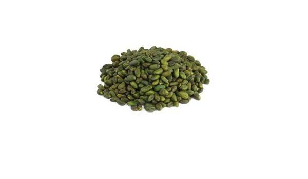 Pistachos verdes crudos orgánicos 1 kg BIO nueces, pelados y descascarillados sin piel. granos sin tostar y sin sal, fuente natural de melatonina 1000g: ...