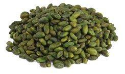 Pistachos verdes crudos orgánicos 1 kg BIO nueces, pelados y descascarillados sin piel. granos