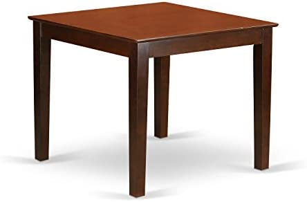 home, kitchen, furniture, kitchen, dining room furniture,  tables 7 on sale East West Furniture OXT-MAH-T Oxford Wooden deals