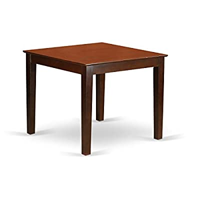 East West Furniture OXNO3-MAH-C 3-Piece Kitchen Table Set -  - kitchen-dining-room-furniture, kitchen-dining-room, dining-sets - 31HMEWbX1zL. SS400  -