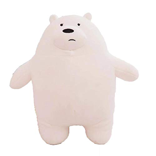 30cm 50cm 70cm Standing We Bare Bears Squishy Naked Three Bears Grizzly/panda/ice Bear Plush Toy 3D Pillow Birthday Gift1pcs