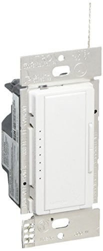 Lutron MRF2-600M-WH Maestro Wireless 600W Single-Pole or Multi-Location Dimmer, White ()